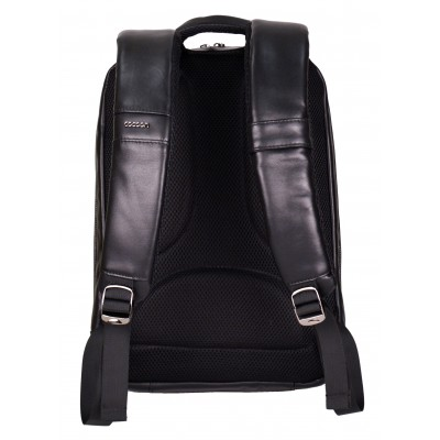 Black Cowhide Leather