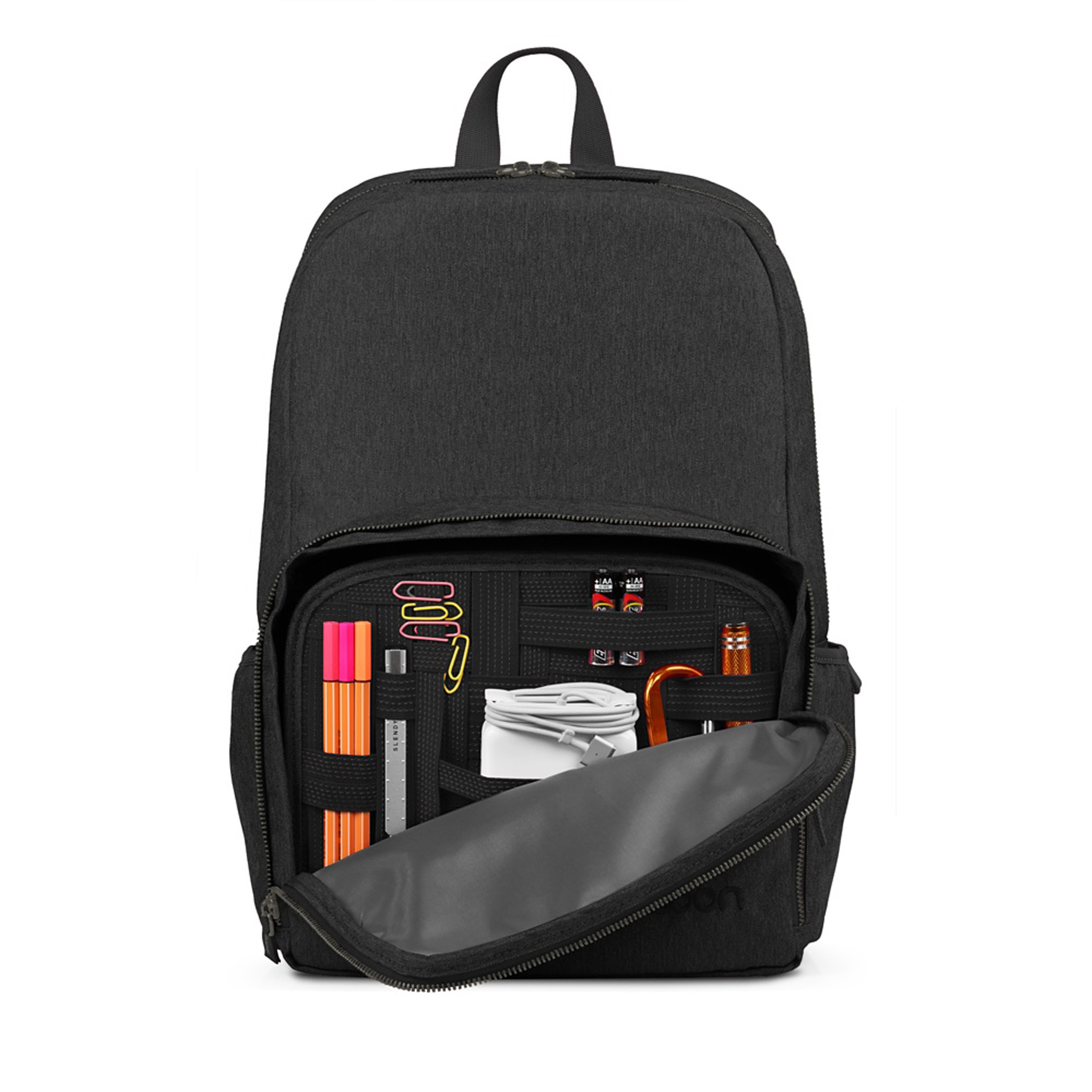 """Cocoon Recess Backpack for 15/"""" Notebooks Black"""
