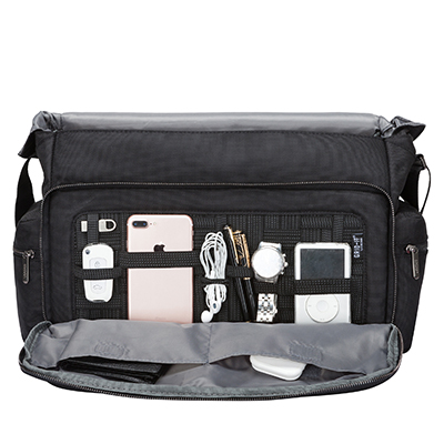 Black 89 99 Buena Vista 16 Messenger Bag